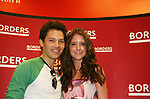 """Brittany Underwood and Jason Tam will be reading passages Red Carpet Riot by """"David Van Etten"""" who is actually three writters: Emmy-winning OLTL scribe Chris Van Etten and his friends David Levithan and David Ozanich on August 15, 2009 at Borders, Time Warner Center Mall, New York City, New York. (Photo by Sue Coflin/Max Photos)"""