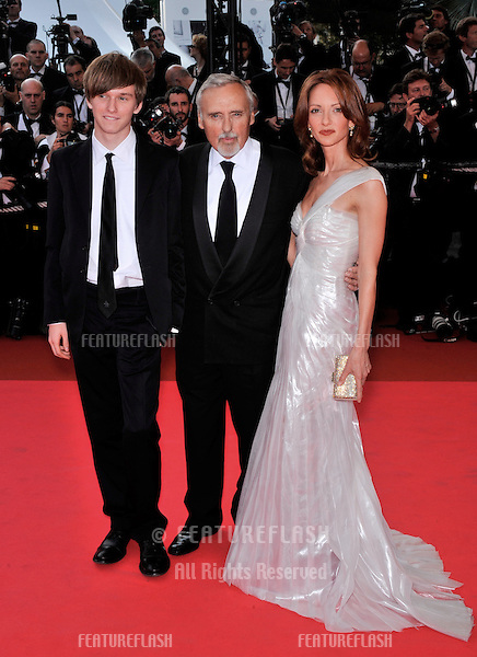 "Dennis Hopper & wife Victoria Duffy & son Henry Lee Hopper at the opening gala screening of ""Blindness"" at the 61st Annual International Film Festival de Cannes..May 14, 2008  Cannes, France..Picture: Paul Smith / Featureflash"