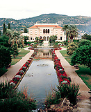 FRANCE, exterior of the Rothschild Mansion, Nice