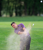 Sam Walker (ENG) on the 1st fairway during Round 1 of the D+D Real Czech Masters at the Albatross Golf Resort, Prague, Czech Rep. 31/08/2017<br /> Picture: Golffile | Thos Caffrey<br /> <br /> <br /> All photo usage must carry mandatory copyright credit     (&copy; Golffile | Thos Caffrey)