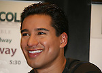 Bold and The Beautiful's Mario Lopez with a new book Mud Tacos or Tacos de Lodo on October 16, 2009 at Lincoln Square Barnes & Noble, New York City, New York.(Photos by Sue Coflin/Max Photos)