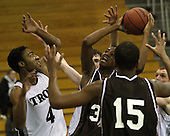 Ferndale at Troy, Boys Varsity Basketball, 1/20/12