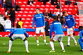 9th September 2017, bet365 Stadium, Stoke-on-Trent, England; EPL Premier League football, Stoke City versus Manchester United; Kevin Wimmer of Stoke City warms up before making his debut in todays game against Manchester United
