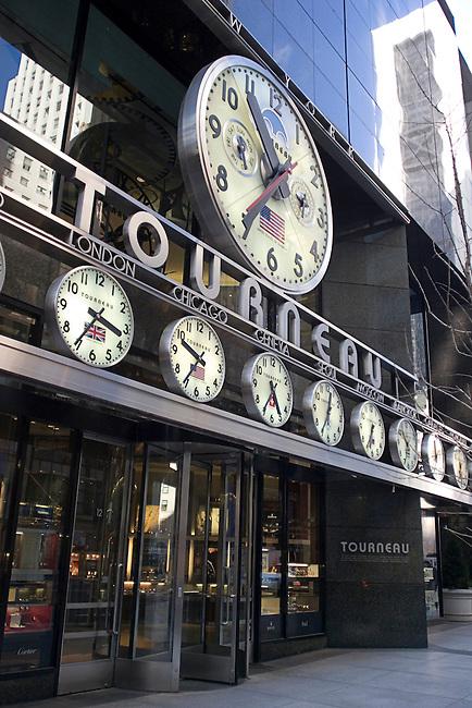 Tourneau, Clocks, Midtown, New York, New York
