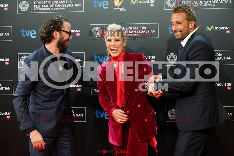 Swedish actress Noomi Rapace presents the film 'The Drop' during the 62st San Sebastian Film Festival in San Sebastian, Spain. September 21, 2014. (ALTERPHOTOS/Caro Marin)