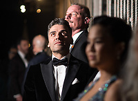 Oscar Isaac backstage during the live ABC Telecast of the 90th Oscars&reg; at the Dolby&reg; Theatre in Hollywood, CA on Sunday, March 4, 2018.<br /> *Editorial Use Only*<br /> CAP/PLF/AMPAS<br /> Supplied by Capital Pictures