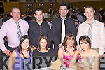 Night Out - Having a great time at the Abbeydorney GAA Club Social held in The Ballyroe Heights Hotel on Saturday night were seated l/r Maura Nolan, Tara O'Leary, Kerry Donovan and Paula Casey, standing l/r Kevin Nolan, Brian Donovan, Douglas Roche and Fergal Roche................................................................................................................................................................................................................................................................................. ............