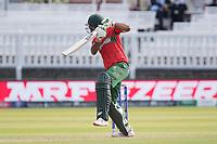 Mashrafe Mortaza (Bangladesh) defends during Pakistan vs Bangladesh, ICC World Cup Cricket at Lord's Cricket Ground on 5th July 2019