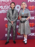 14 March 2019 - Los Angeles, California - Zedd, Katy Perry. 2019 iHeart Radio Music Awards held at Microsoft Theater. Photo Credit: Birdie Thompson/AdMedia