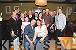 PARTY ON THE DOUBLE: Francis Gaine, Kenmare celebrating his engagement to Megan O'Dwyer from Australia and his 30th birthday in the Brook Lane Hotel, Kenmare on Saturday night with family and friends.
