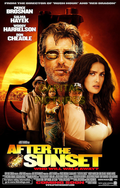 POSTER ART.in After The Sunset.Filmstill - Editorial Use Only.CAP/AWFF.supplied by Capital Pictures.