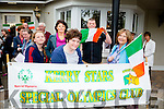 Front l-r Aoife O'Donoghue, Ciara Sheehan and Fiona Bohan. Back l-r Jane O'Donoghue and James O'Donoghue waiting to welcome Home of  Brendan O'Connell who won gold in Special Olympics at the Meadowlands Hotel on Tuesday