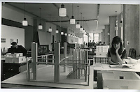 Darwin Building: Interior Design department on opening in 1962