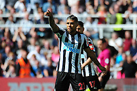 DeAndre Yedlin of Newcastle United during Newcastle United vs Chelsea, Premier League Football at St. James' Park on 13th May 2018