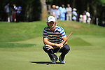 Chris Wood on the first hole in the final round of the BMW PGA championship 2010 at Wentworth golf club, Surrey, England..Picture Manus O'Reilly/Newsfile.ie