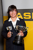 Young Sportwoman of the Year Cecilia Cho from Pakuranga College. ASB College Sport Young Sportsperson of the Year Awards held at Eden Park, Auckland, on November 11th 2010.