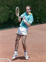 ARCHIVE: MONACO:  JUNE 1988: HSH Prince Albert of Monaco at celebrity tennis tournament in Monaco.<br /> File photo © Paul Smith/Featureflash