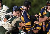 Patumahoe prop P. Taula. Counties Manukau Premier Club Rugby, Patumahoe vs Manurewa played at Patumahoe on Saturday 6th May 2006. Patumahoe won 20 - 5.