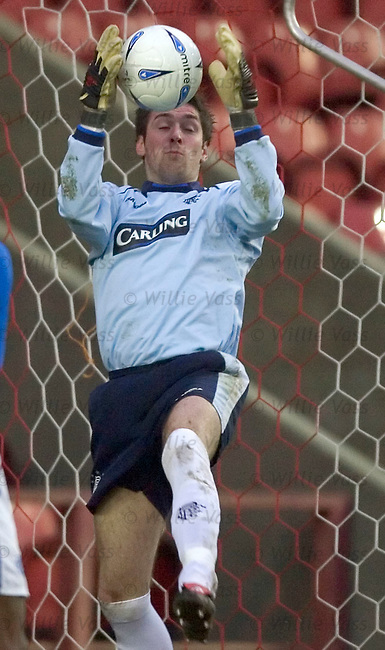 Allan McGregor, Rangers.stock season 2004-2005.pic willie vass
