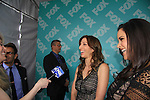 Chelsea Peretti & Melissa Fumero - Brooklyn Nine-Nine at the 2013 Fox Upfront Post Party on May 13, 2013 at Wolman Rink, Central Park, New York City, New York. (Photo by Sue Coflin/Max Photos)