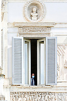 The windows where the meeting is taking place, closed by the Government staff at the Casina del buon respiro, inside Villa Pamphilj, where the Italian Premier convened the States General of Economy. The summit was strictly behind closed doors and the press was kept outside. Rome (Italy), June 15th 2020<br /> <br /> <br /> <br /> Samantha Zucchi Insidefoto
