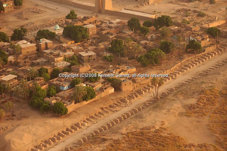 Hatshepsut; Egypt; Aerials; Karnak Temple; New Kingdom; 18th dynasty; Luxor
