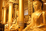 Buddha statue at Shwedagon pagoda