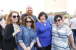 Waterbury, CT- 19 May 2017-051917CM15- SOCIAL MOMENTS-- From left, Marianna Vagnini-Dadamo, with  Waterbury Arts Magnet School, Liz Lacava with Power Station Events, Joseph Torello, of NYC and his mother Trisha Torello of Prospect and Sheree Marcucci with the Palace Theater during the Palace Theater's Palace 10.2: City Lights, City Nights celebration.  Christopher Massa Republican-American