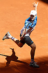 Dominic Thiem, Austria, during Madrid Open Tennis 2016 match.May, 3, 2016.(ALTERPHOTOS/Acero)