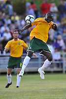 Manuel Kante...AC St Louis were defeated 1-2 by Austin Aztek in their inaugural home game in front of 5,695 fans at Anheuser-Busch Soccer Park, Fenton, Missouri.