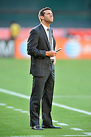 D.C. United Head Coach Ben Olsen. The Vancouver Whitecaps FC defeated D.C. United 1-0, at RFK Stadium, Saturday June 29 , 2013.