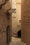 Israel, Tel Aviv-Yafo, an alley in Jaffa