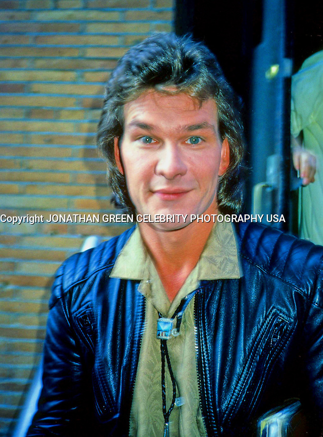 Patrick Swayze 1985 ABC Studios Interview By Jonathan Green Celebrity Photography USA