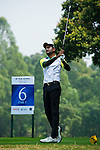 Abhijit Chadha of India tees off during the 2011 Faldo Series Asia Grand Final on the Faldo Course at Mission Hills Golf Club in Shenzhen, China. Photo by Victor Fraile / Faldo Series
