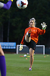 20 October 2013: Clemson assistant coach Siri Mullinix. The University of North Carolina Tar Heels hosted the University of Virginia Cavaliers at Fetzer Field in Chapel Hill, NC in a 2013 NCAA Division I Women's Soccer match. North Carolina won the game 2-0.