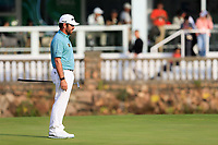 Louis Oosthuizen (RSA) on the 18th during the 3rd round of the WGC HSBC Champions, Sheshan Golf Club, Shanghai, China. 02/11/2019.<br /> Picture Fran Caffrey / Golffile.ie<br /> <br /> All photo usage must carry mandatory copyright credit (© Golffile | Fran Caffrey)
