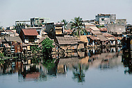 Hué, February 1988. The city is built on the banks of the Perfume River.