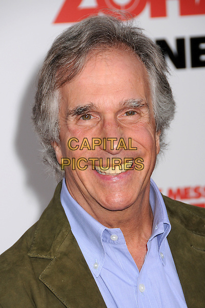 "HENRY WINKLER.""You Don't Mess With The Zohan"" LA Premiere at Grauman's Chinese Theatre, Hollywood, California, USA..May 28th, 2008.headshot portrait .CAP/ADM/BP.©Byron Purvis/AdMedia/Capital Pictures."