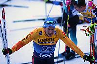 5th January 2020; Val Di Fiemme Ski Resort, Val Di Fiemme, Trento, Italy; International Ski Federation Audi FIS Mens Cross Country Ski World Cup, Tour De Ski Val Di Fiemme; Lucas Boegl (GER)