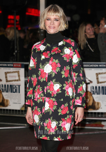 Edith Bowman arriving for the World Premiere of Gambit, at the Empire Leicester Square, London. 07/11/2012 Picture by: Alexandra Glen / Featureflash