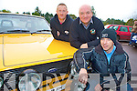 Pictured at the start of the Irish Escort Drift Tour at Darby O'Gills, Killarney on Saturday morning were Declan Casey, Pat Gill and Noel O'Keeffe.