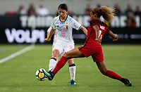 Carson, CA - Thursday August 03, 2017: Casey Short during a 2017 Tournament of Nations match between the women's national teams of the United States (USA) and Japan (JAP) at StubHub Center.
