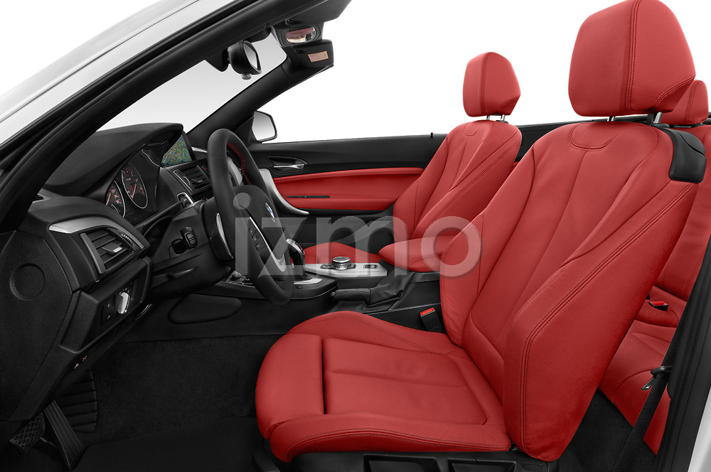 Front seat view of a 2015 BMW 2 Series  Sport 2 Door Convertible front seat car photos