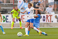 Bridgeview, IL - Saturday June 18, 2016: Louise Schillgard during a regular season National Women's Soccer League (NWSL) match between the Chicago Red Stars and the Boston Breakers at Toyota Park.
