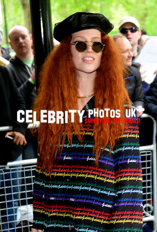 Jess Glynne  at the Ivor Novello Awards at the Grosvenor House Hotel, Park Lane, London on May 19th 2016