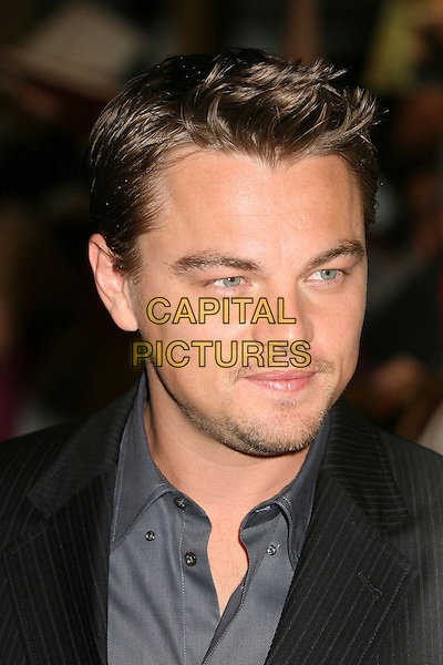 LEONARDO DiCAPRIO.79th Annual Academy Awards Nominees Luncheon at the Beverly Hilton Hotel, Beverly Hills, California, USA..February 5th, 2007.headshot portrait Di Caprio stubble facial hair .CAP/ADM/BP.©Byron Purvis/AdMedia/Capital Pictures