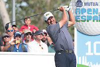 Jose Maria Olazabal (ESP) on the 10th tee during the second round of the Mutuactivos Open de Espana, Club de Campo Villa de Madrid, Madrid, Madrid, Spain. 04/10/2019.<br /> Picture Hugo Alcalde / Golffile.ie<br /> <br /> All photo usage must carry mandatory copyright credit (© Golffile | Hugo Alcalde)