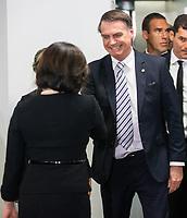 BRASILIA, DF, 20.11.2018 - BOLSONARO-CCBB-   O presidente eleito, Jair Bolsonaro, durante encontro com a procuradora-geral da República, Raquel Dodge, nesta terça, 20.(Foto:Ed Ferreira / Brazil Photo Press)