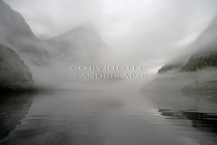 Fiordland National Park. Doubtful Sound. New Zealand.
