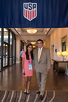 Orlando, FL - Saturday February 10, 2018: Anniversary Dinner Reception, Participants during U.S. Soccer's Annual General Meeting (AGM) at the Renaissance Orlando at SeaWorld.